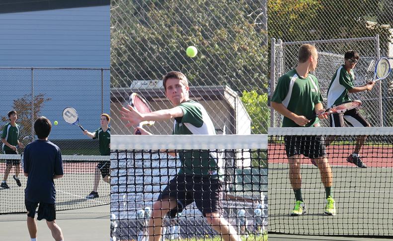Tennis+team+causes+a+racket