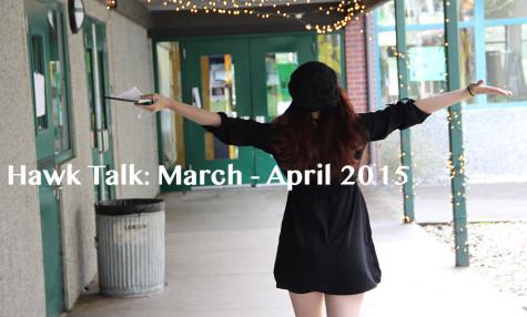 Hawk Talk: March-April 2015