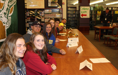 Seniors take athletics to collegiate level