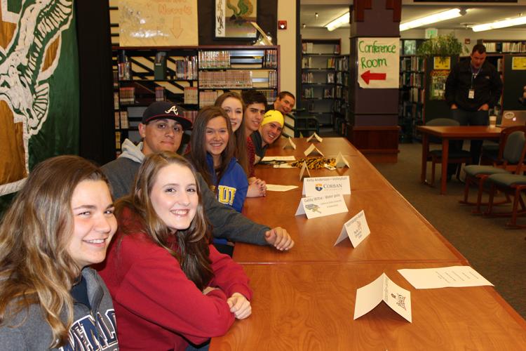 Seniors take athletics to collegiate level
