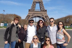 Adventure to Europe sets sail spring break 2015