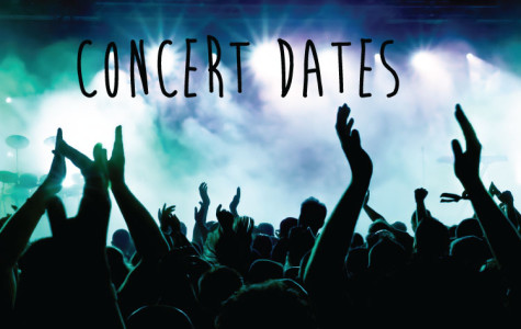 Concert dates: May