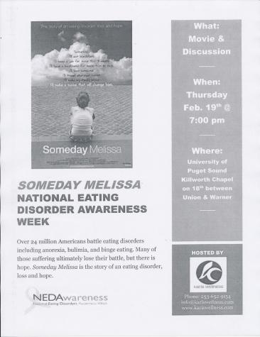 Someday Melissa movie night: Raise awareness