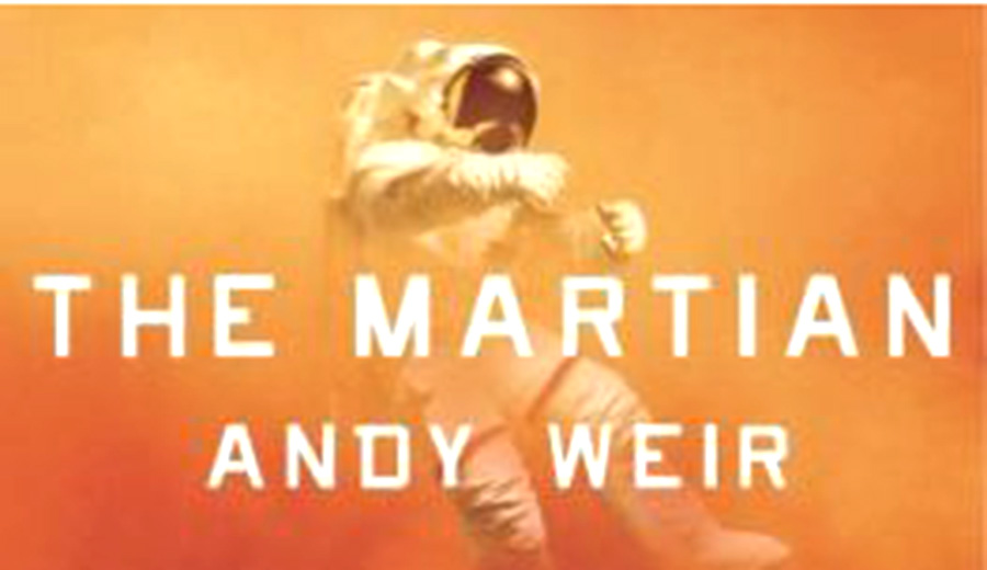 Editor in Chief, Lucy Arnold, reviews the incredible story  of The Martian by Andy Weir.