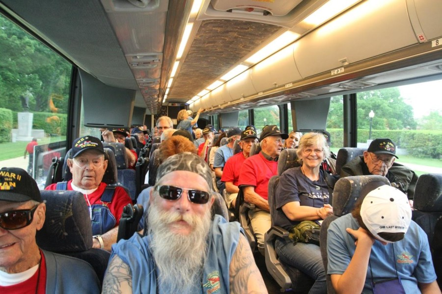 PSHF sends local veterans to the Washington DC memorials