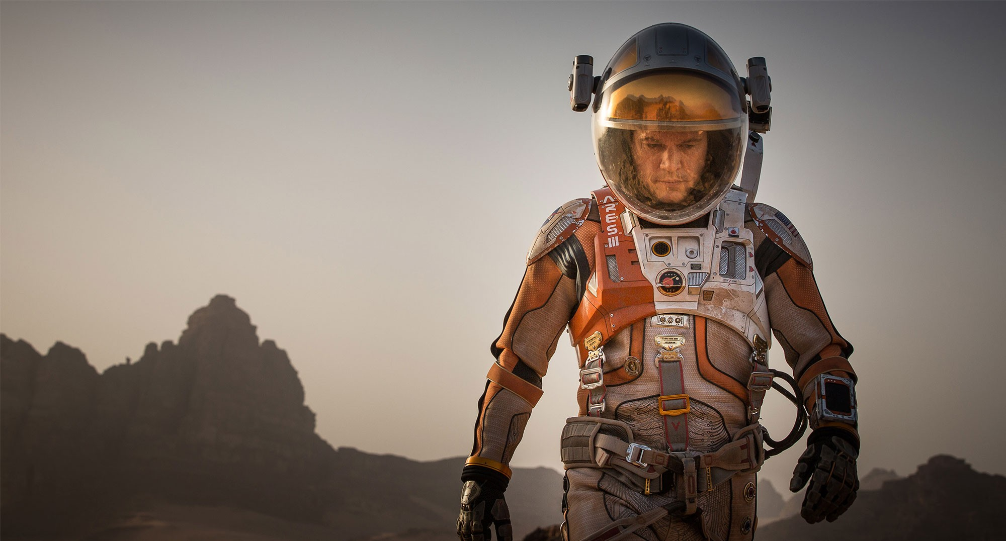 A scene from the feature film, The Martian.