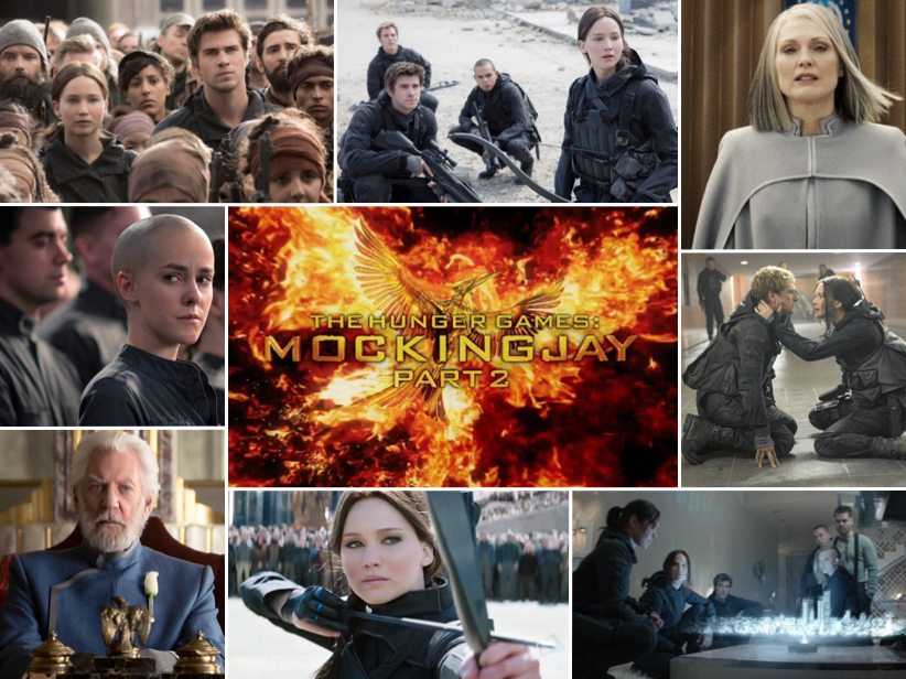 Reporter, Emily Waters, reviews the Blockbuster film, Mockingjay Part 2.