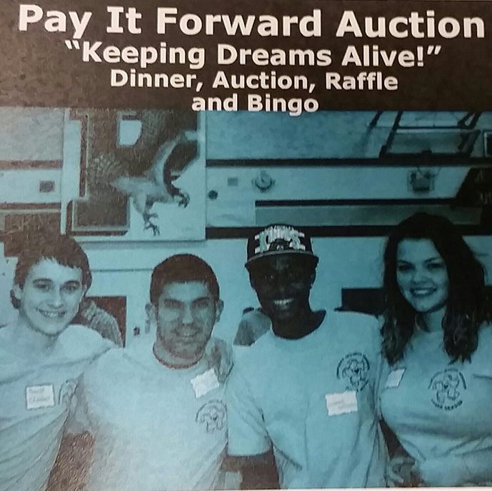 Flyer for the CIP Auction