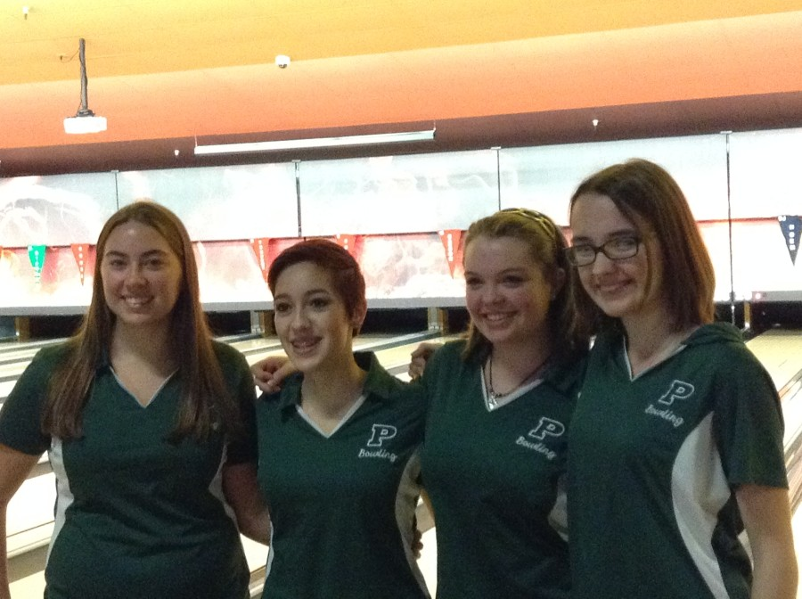 PHS girls bowling team (2015-2016)