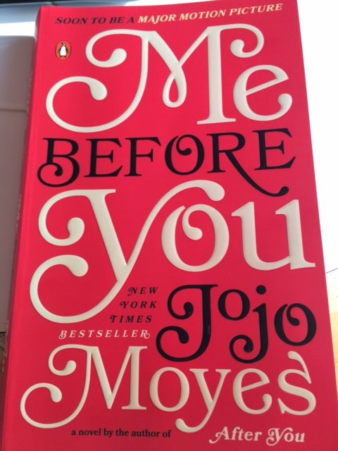 Managing Editor, Meghan Laakso, reviews the novel, Me Before You, by Jojo Moyes.