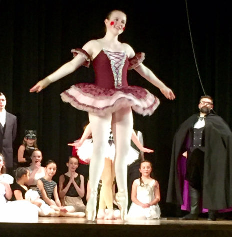 Reporter, Riley Rosi, features PHS's own ballerina, Emily Rayfield.