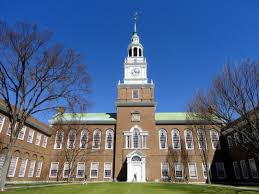 The main green of the prestigious Dartmouth University, where Mills was accepted. Photo credited to Wikipedia.