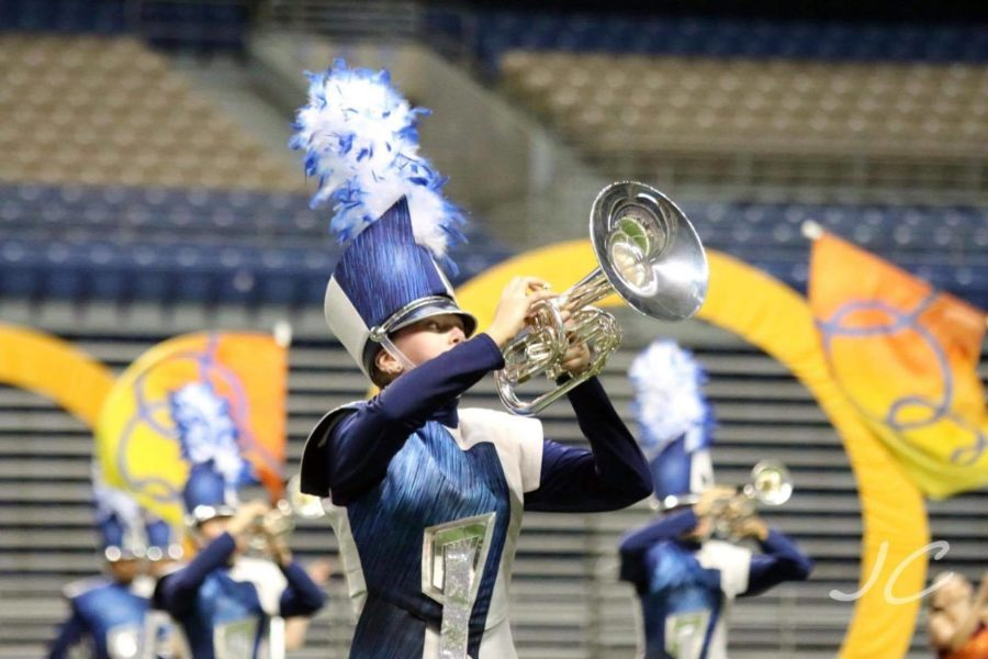 Victoria Johnson playing for DCI (photo credit Victoria Johnson).