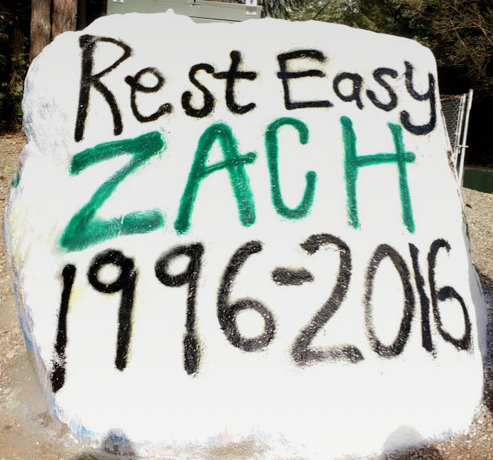 School+rock+painted+in+loving+memory+of+Zach.