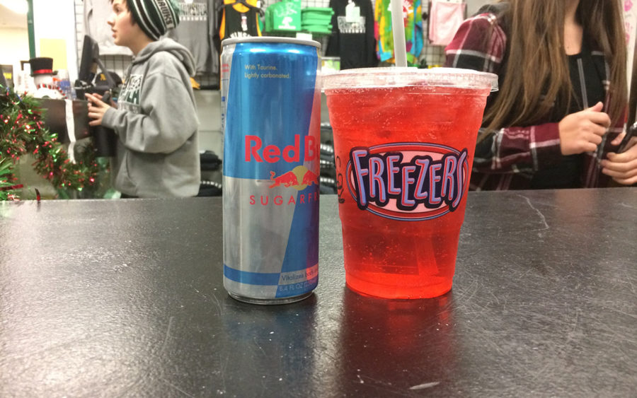 The Hawk Shop's Red Bull Spritzers.
