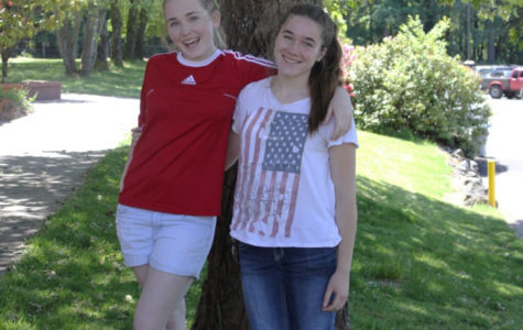 Emma and Lauren Kilcup