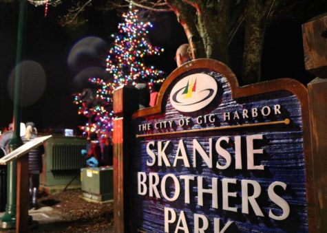 Annual lighting held at Skansie Brothers Park, loving families and holiday enthusiasts congregated to create a warm atmosphere.