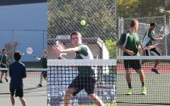 Tennis team causes a racket