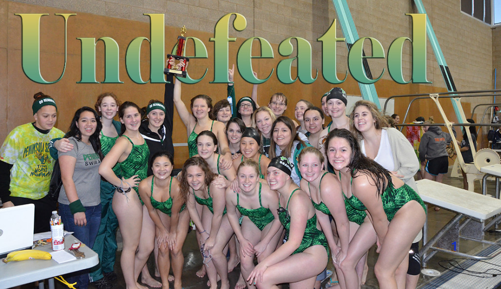 Girls swim and dive proud of successful season