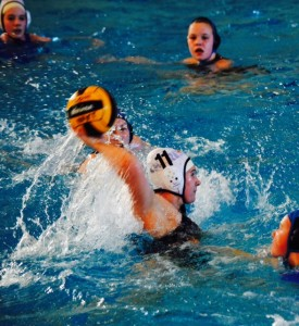 Wiltse works her way to collegiate water polo