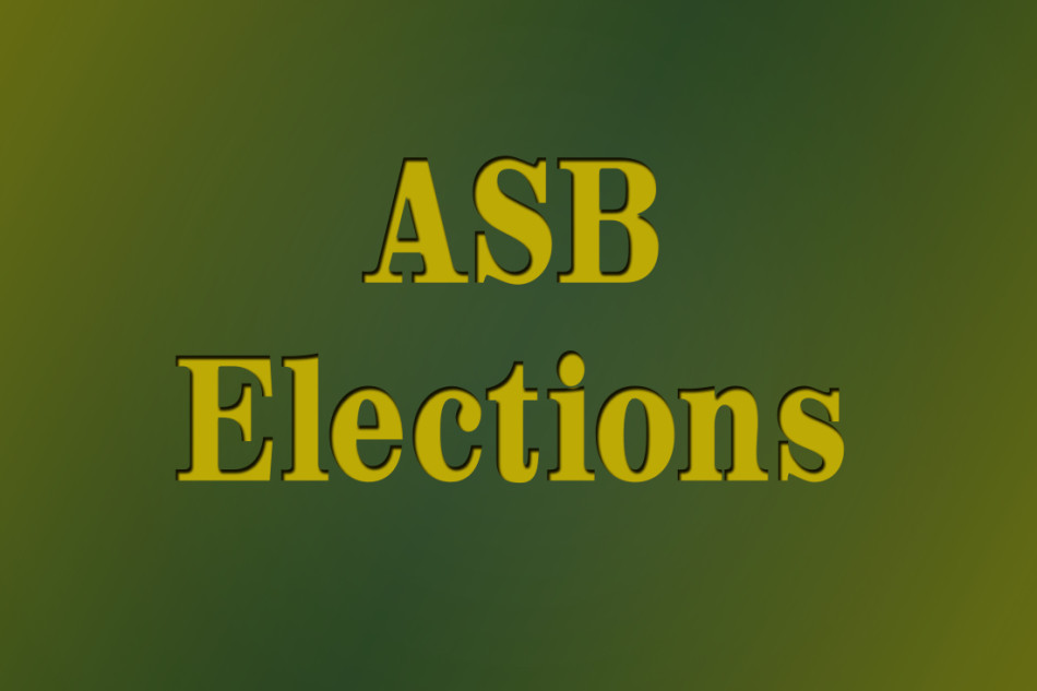The ASB elections for the 2015-2016 school year will be taking place Thursday, April 9.