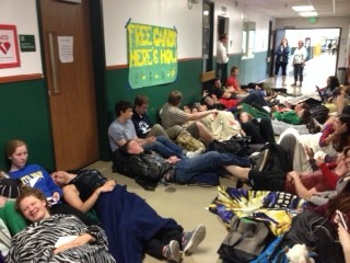 Senior Snuggle of 2014