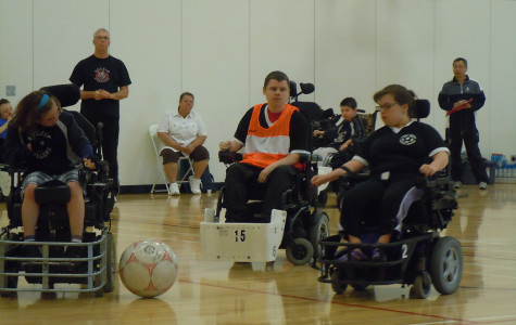 Reporter, Riley Rosi, captures the unknown world of Power Soccer. Photo credited to Coach Kirk Westrick.