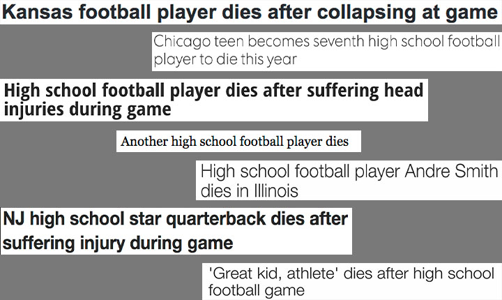 Sports Editor, Seth Walloch, identifies the major problem in sports: concussions.