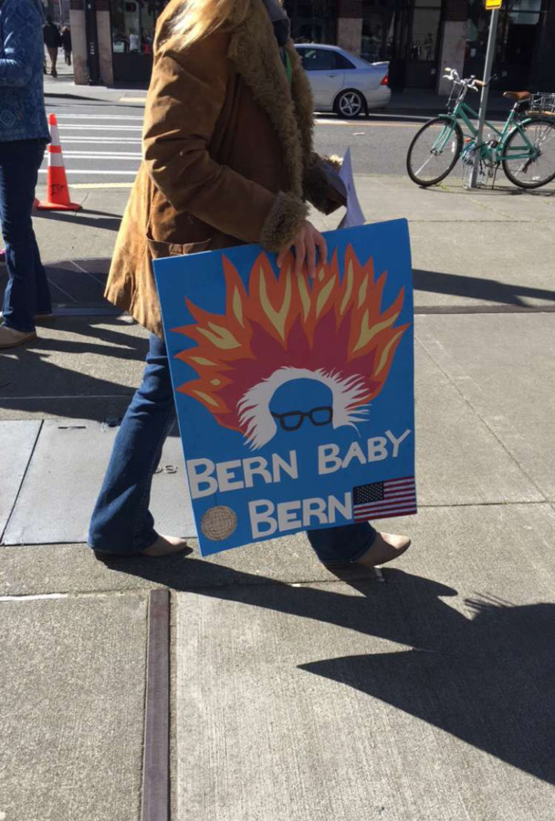 Reporter, Natalie Svinth, recalls her experience at the Bernie Sanders Rally.