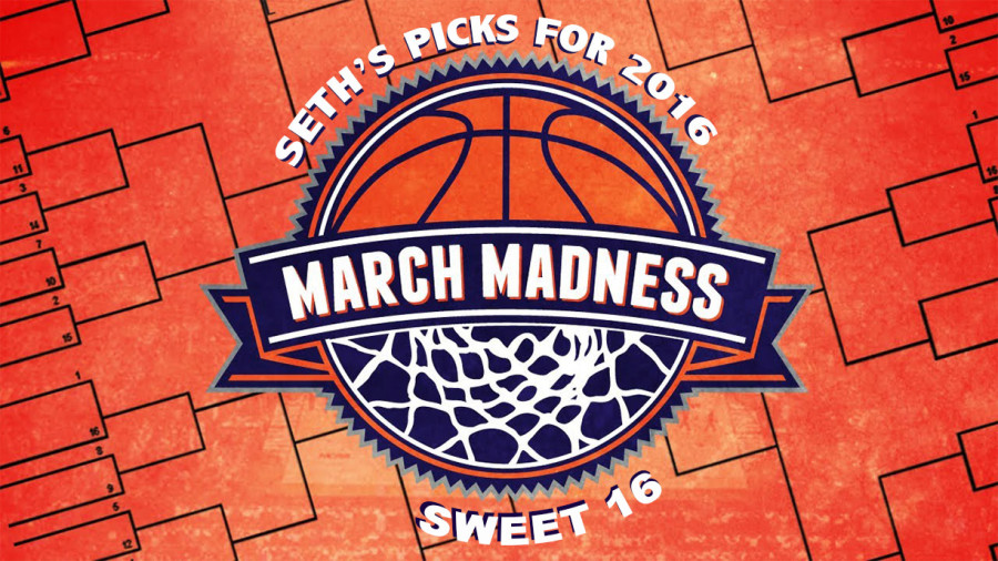 Sports Editor, Seth Walloch, gives his opinion on his picks for march Madness.