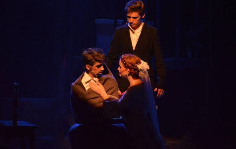 Cosette, Marius, and Jean Valjean