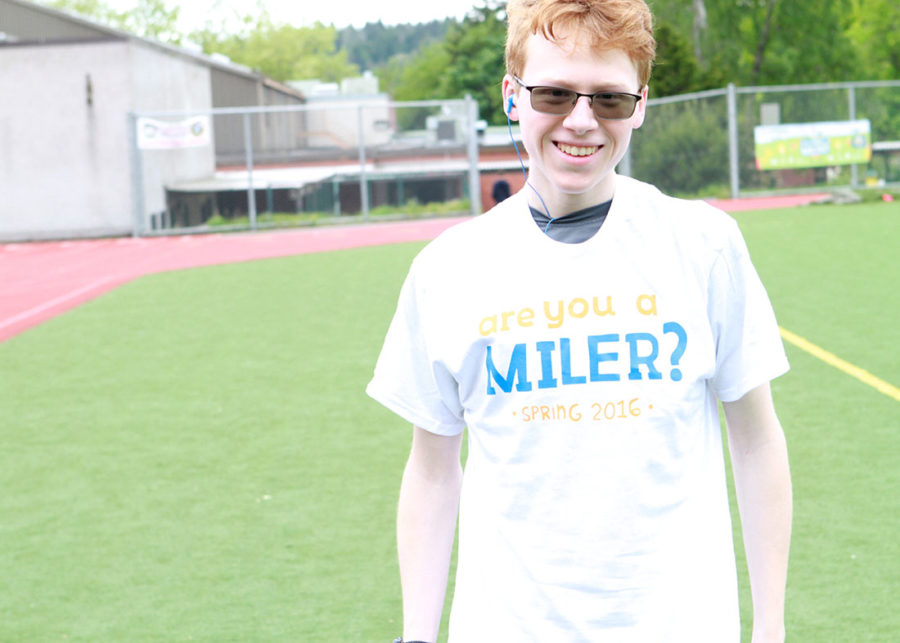 Managing Editor, Meghan Laakso, covers the hit event put on by Mrs. Miller- National Run a Mile Day.