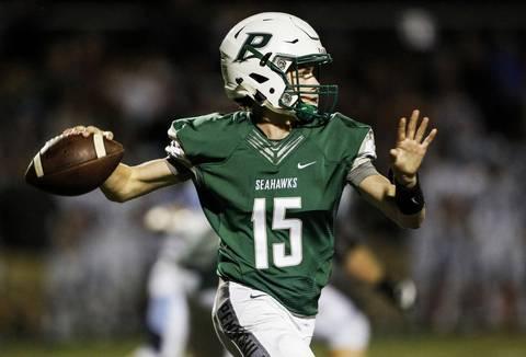 Sophomore quarterback Burke Griffin.