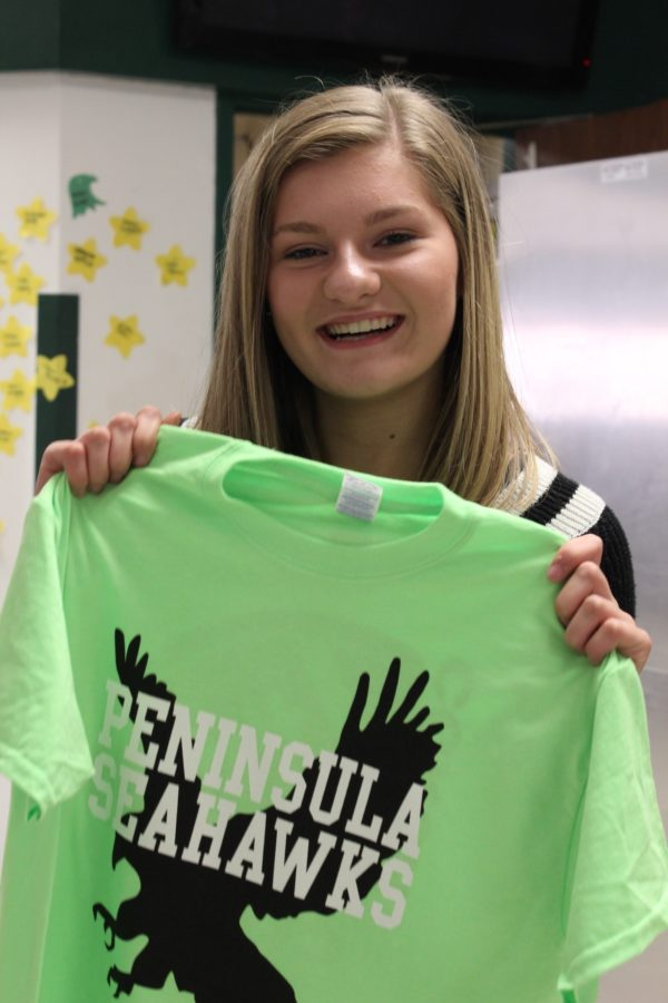 Coach to Cure MD fundraiser t-shirts Brayden Hester, UNICEF member, helped create.