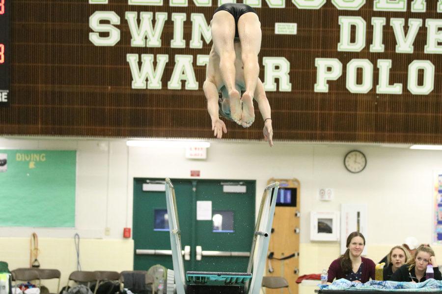 Tyler Nichols diving like a pro.