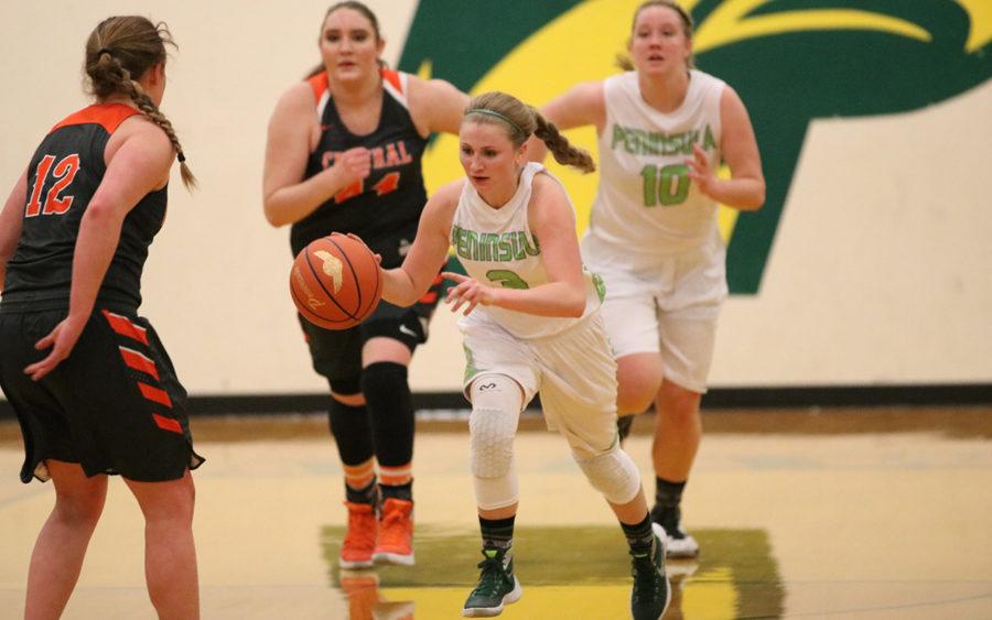 PHS girls Basketball team.