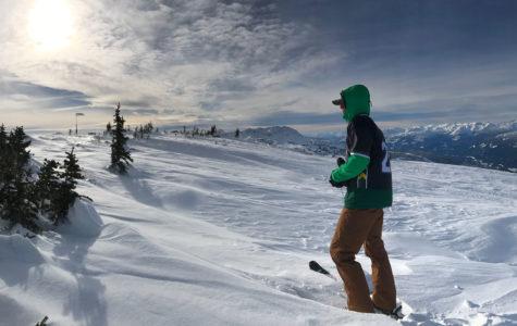 Peter Murphy at Whistler Peak.
