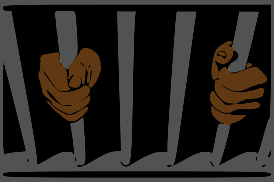 Black men account for 40.2% of the United States prison population.