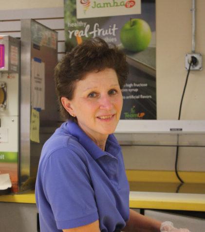 Lisa Hodkinson keeps the PHS cafeteria running.