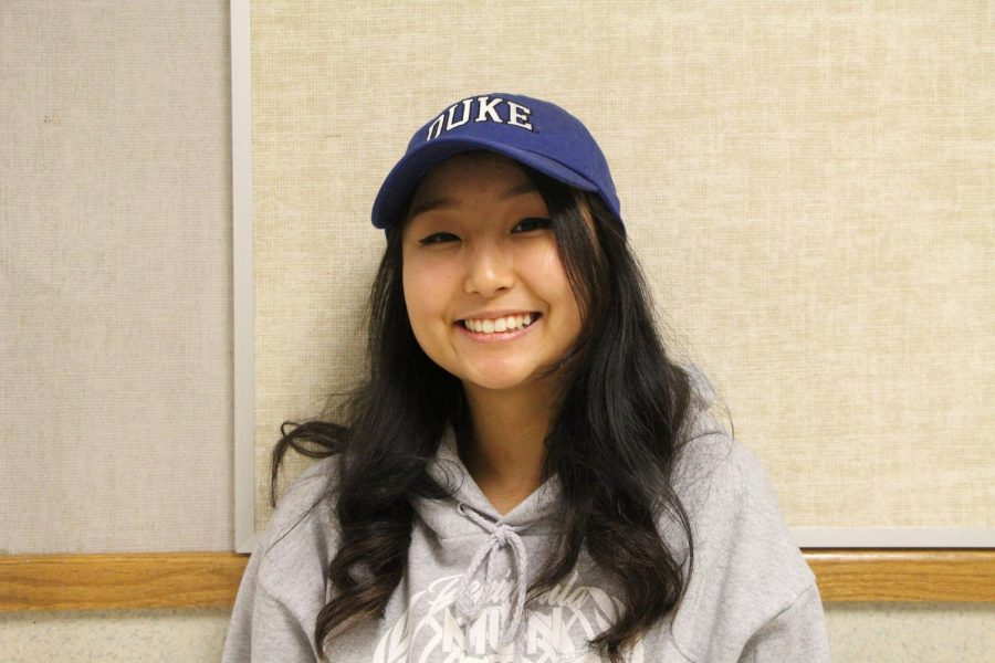 "Cheyenne Kim   Duke university   What made you choose your future school? ""I was having a small crisis in the beginning of my college search, but when I stumbled upon Duke and their schools ideals and spirit, it definitely caught my eye. It was more of a dream school for me since it was very likely I'd be rejected, but when I got accepted, it made the experience that much more enjoyable. Go blue devils!""  What are you most excited for? ""Duke basketball games and being able to study what I actually enjoy""  What are your future plans?  ""Major: computer science. I wanna do some cool secret governmental hacking stuff, it looks dope on TV. Or just work at google."""