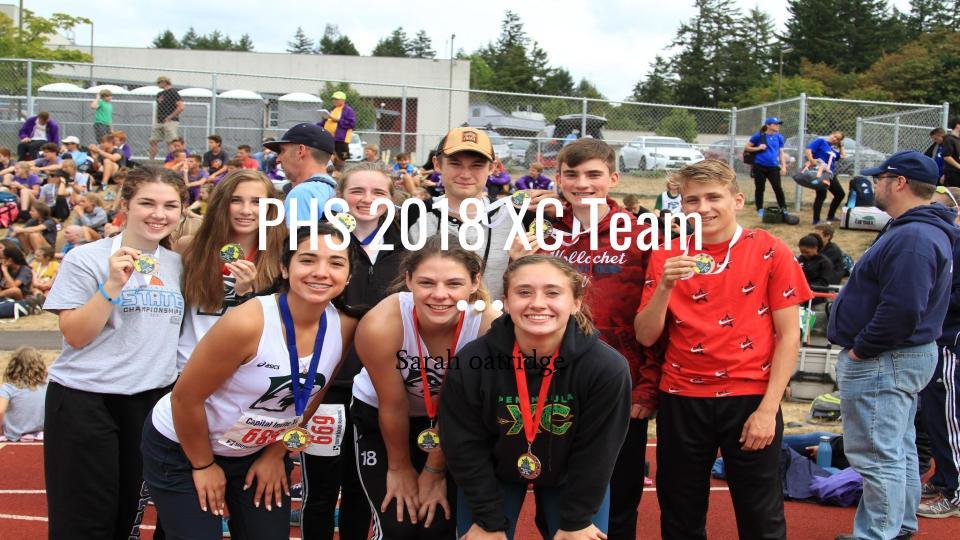 PHS 2018 XC Team