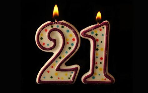 Underage candle 21