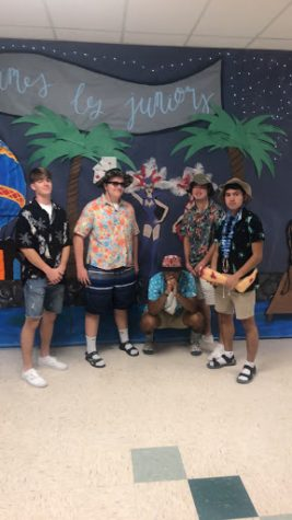Peninsula High School takes on Tropical Tuesday