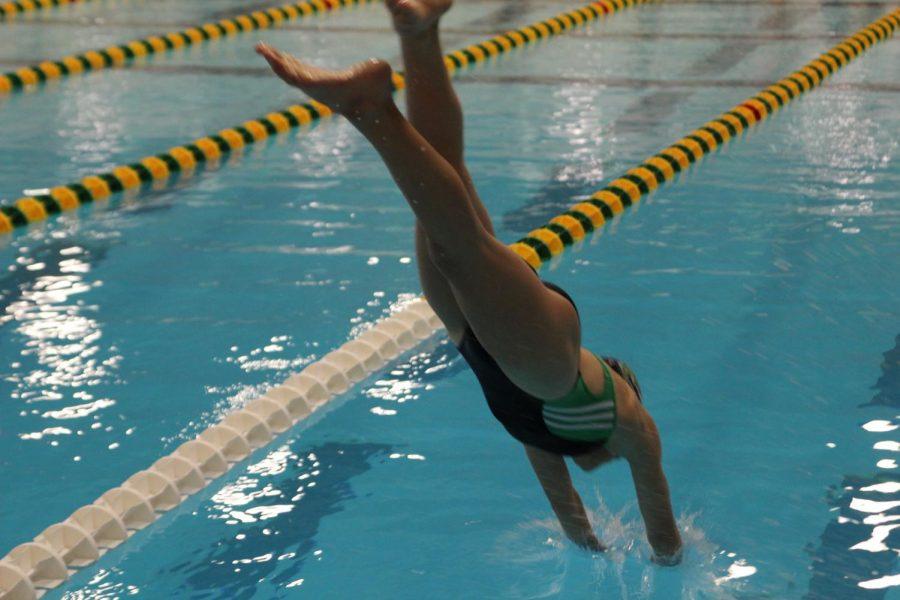 Girls+swim
