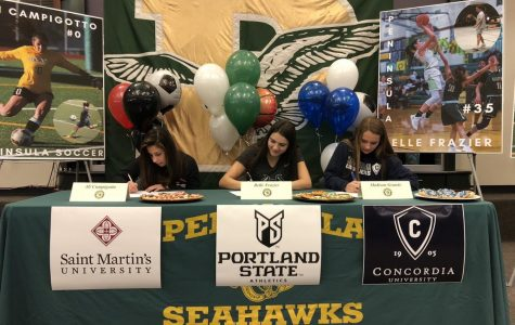 Three Seahawks Athlete Sign With College Programs