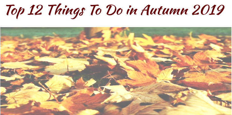 Top 12 Things To Do in Autumn 2019
